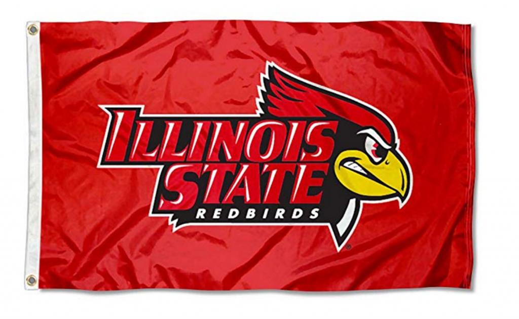 Illinois State Redbirds flag