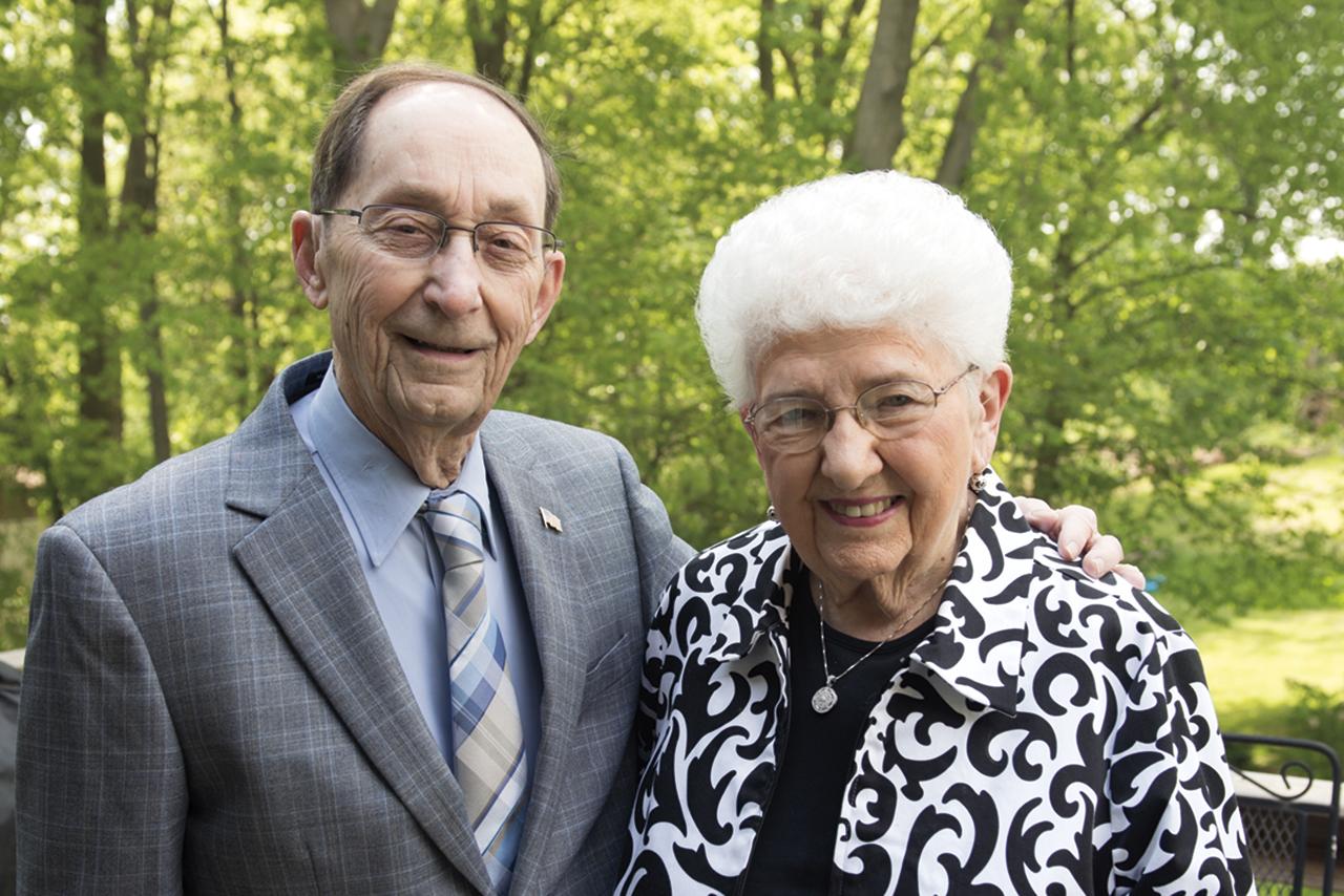 Mike and Norma Caringello