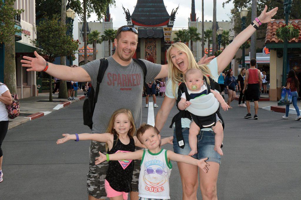Monique (Witkowski) and Tristan Borzick and family