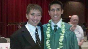 Brothers John Ryan and CJ Hamilton