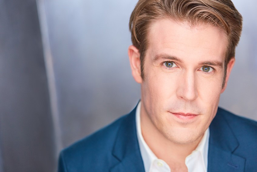 Headshot of actor Jordan Coughtry