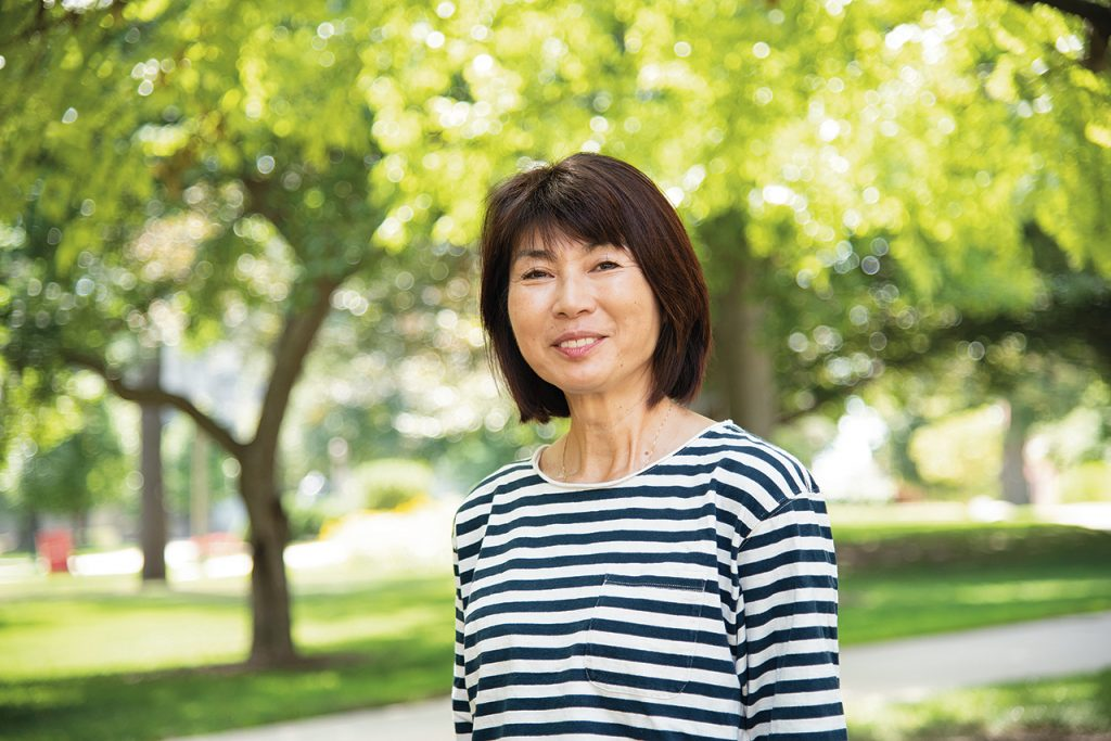 Nobuko Adachi on Quad