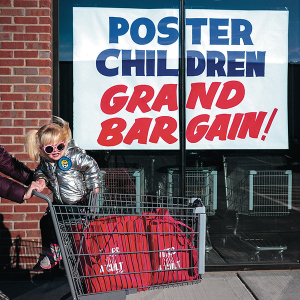 Music album cover Poster children Grand Bargain!