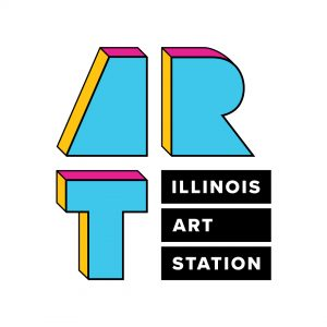 Illinois Art Station logo with the letters A, R, and T