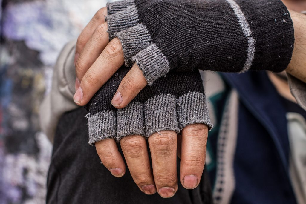 image of a man's hands