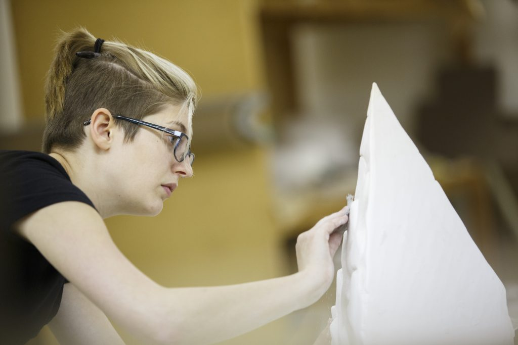 Whether it's art or beyond, college is an opportunity for self-exploration.