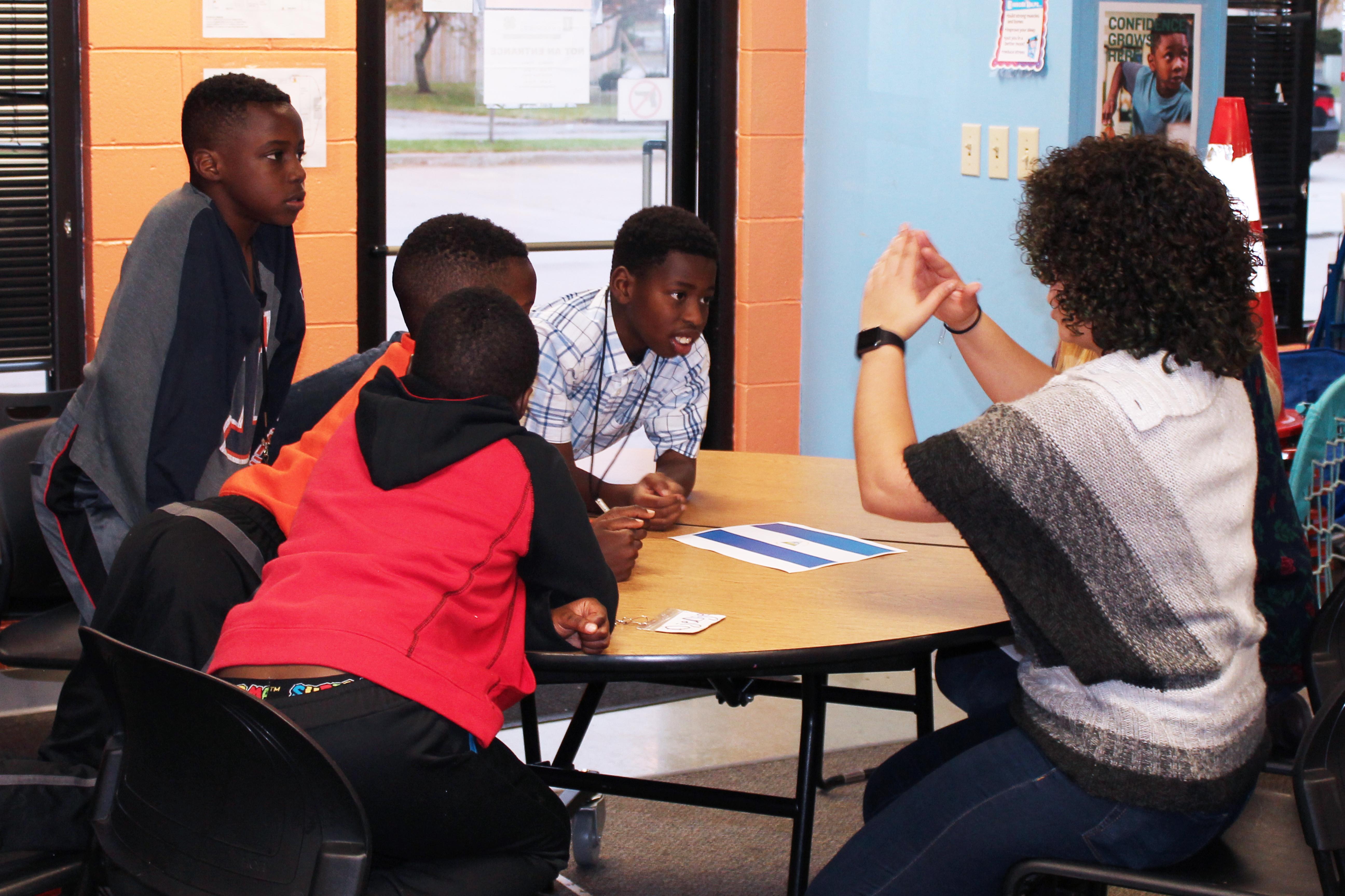 ISU students work with Unity youth