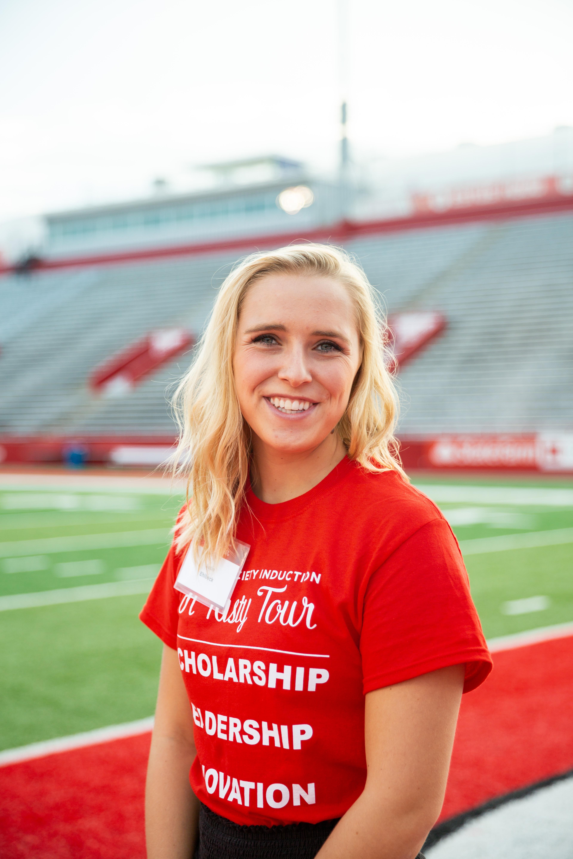 Student Josie Ehlbeck