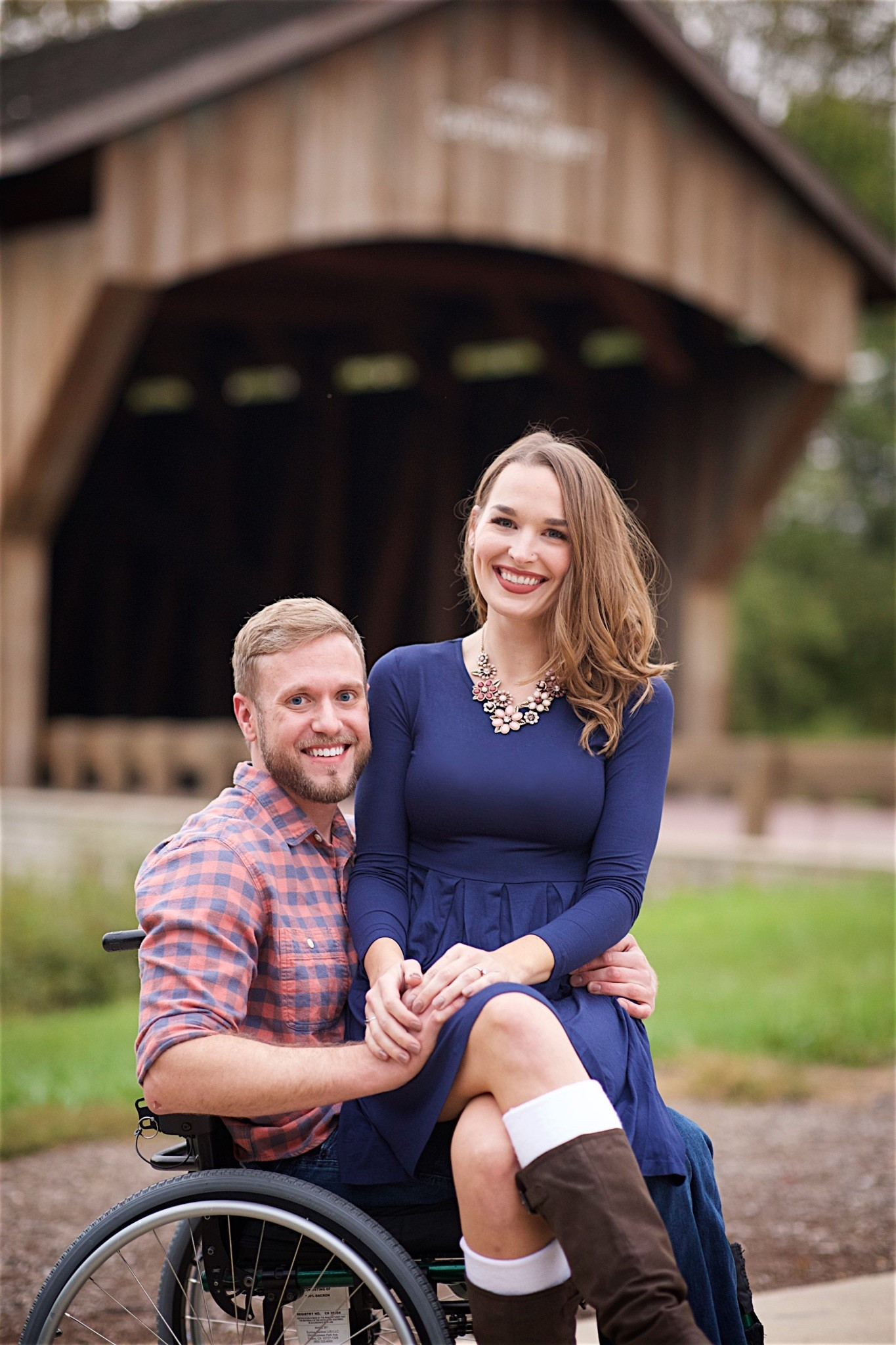 Student Kathleen Cleary and fiance
