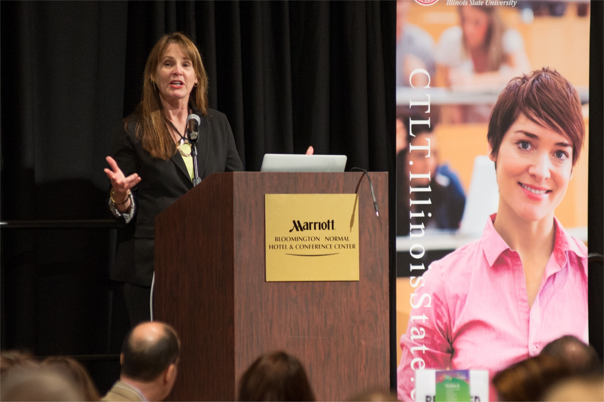 A past Symposium keynote speaker