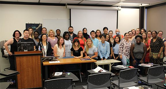 Criminal Justice Sciences students share their research experiences at Stockton University