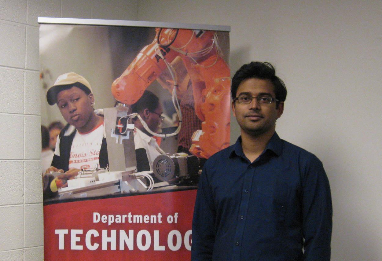 Arafath Hossain, M.S. '18, technology quality management and analytics