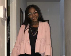 Artdesha Williams standing