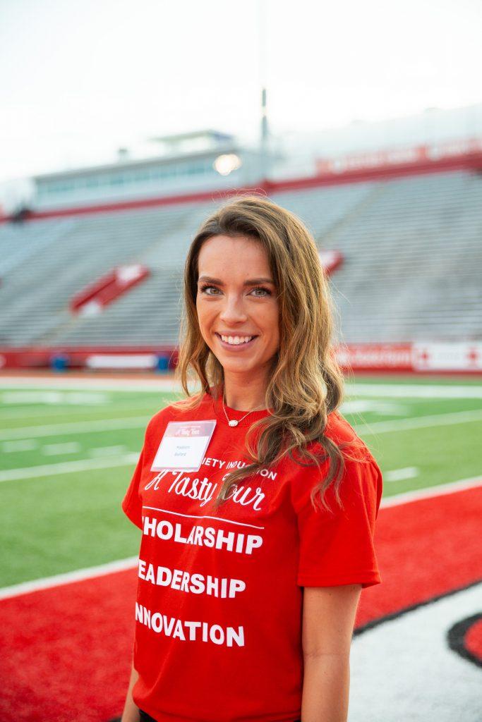 Student Madison Ballard