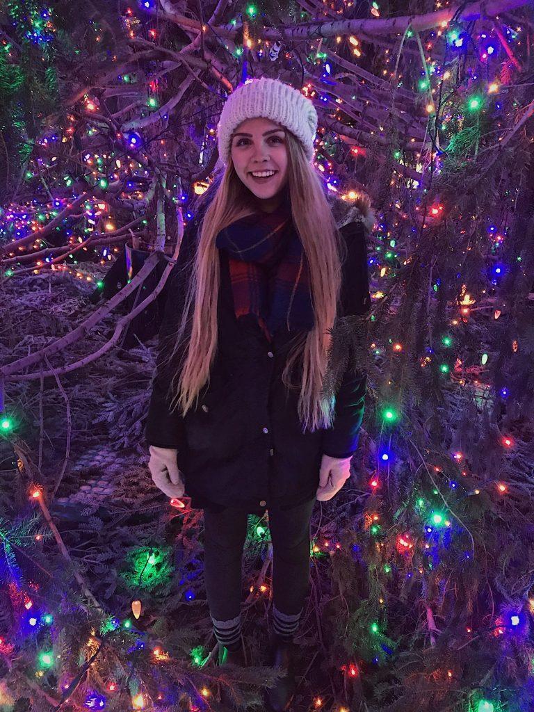 Student Melanie Brixius