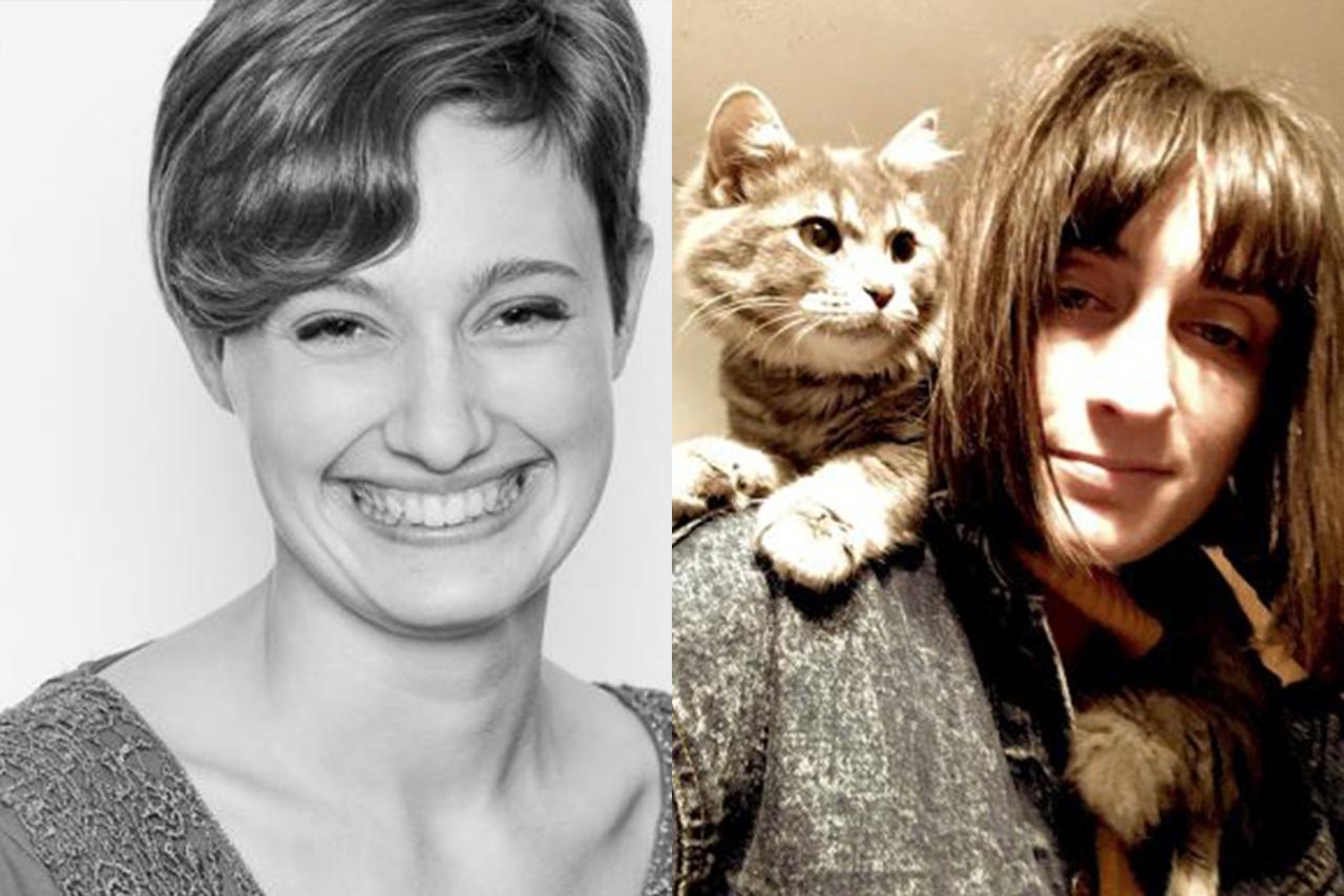 Sarah Lyons and Jade Urban