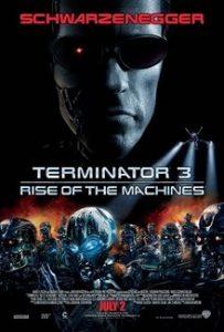 Terminator 3 movie poster