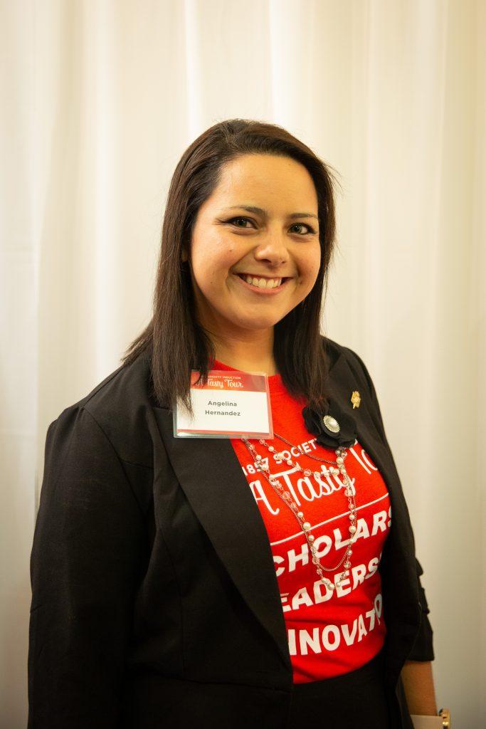 Student Angelina Hernandez