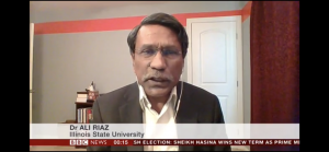 Ali Riaz on BBC