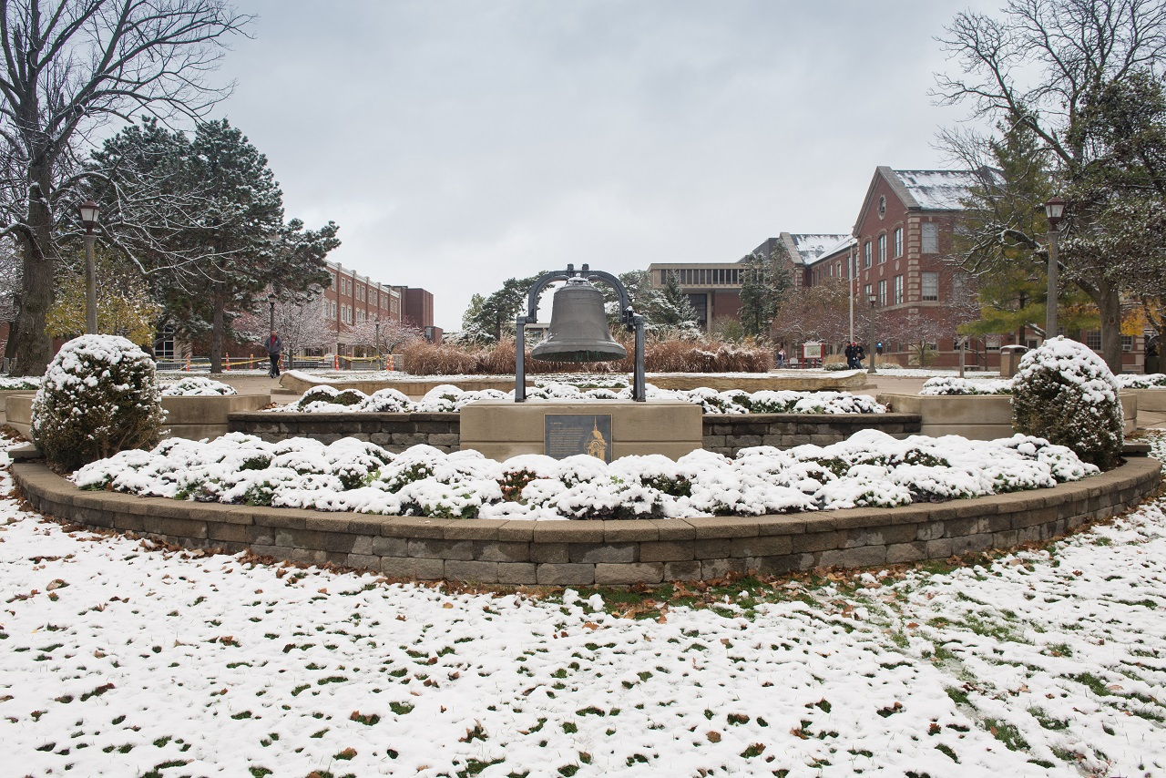 Quad in winter