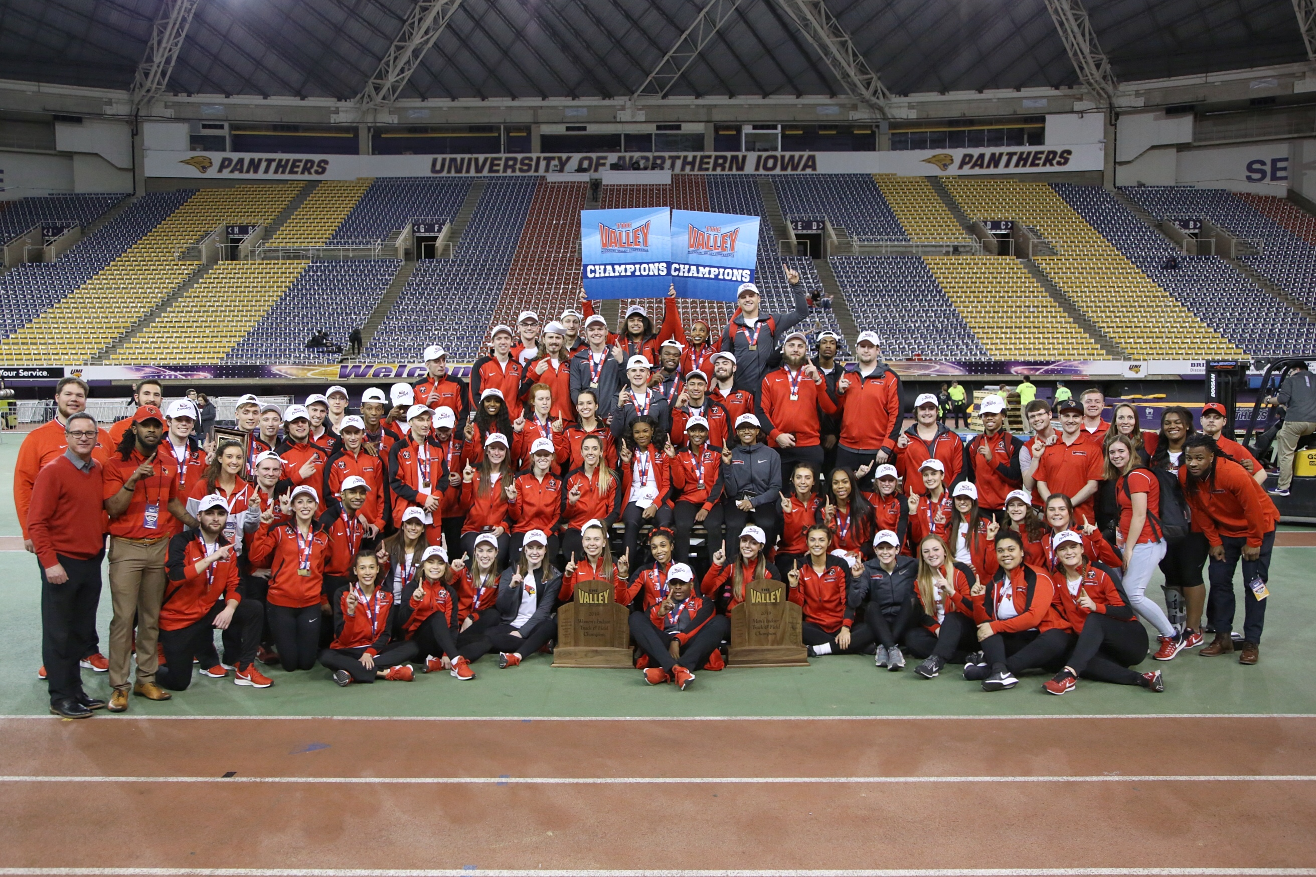 Indoor Track and Field Champions