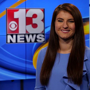 Multi-media journalist and Redbird alum Haley Kosik ('18)