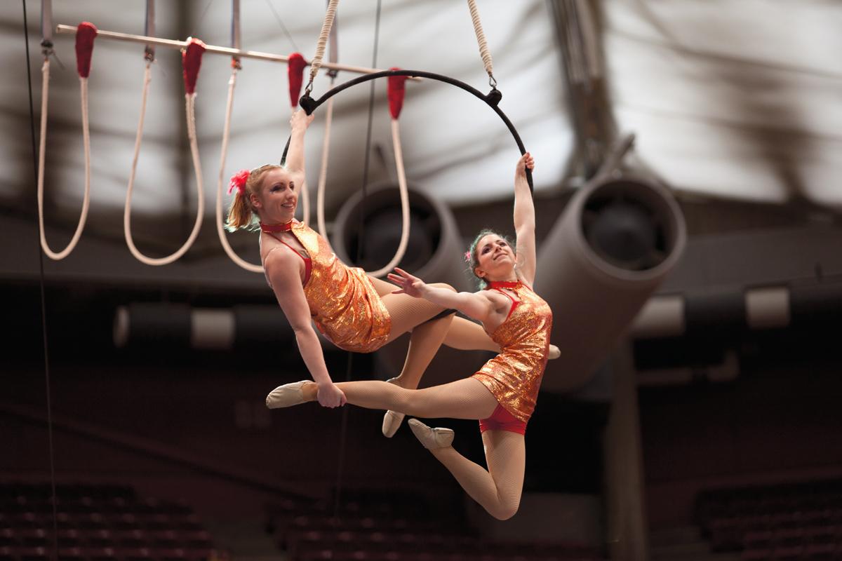Illinois State University's Gamma Phi Circus