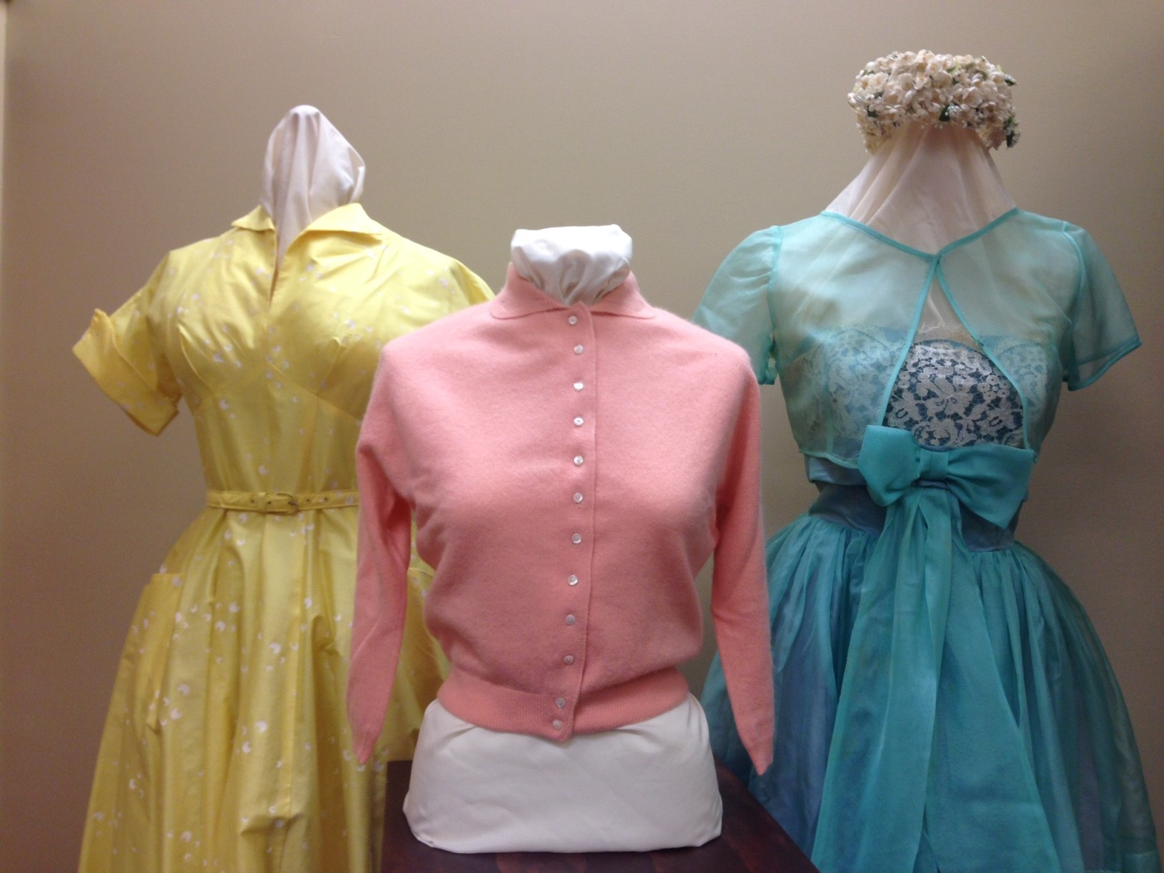 1950s ensembles in the Lois Jett Historic Costume Collection