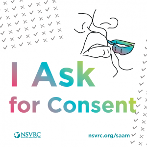 I Ask for Consent logo