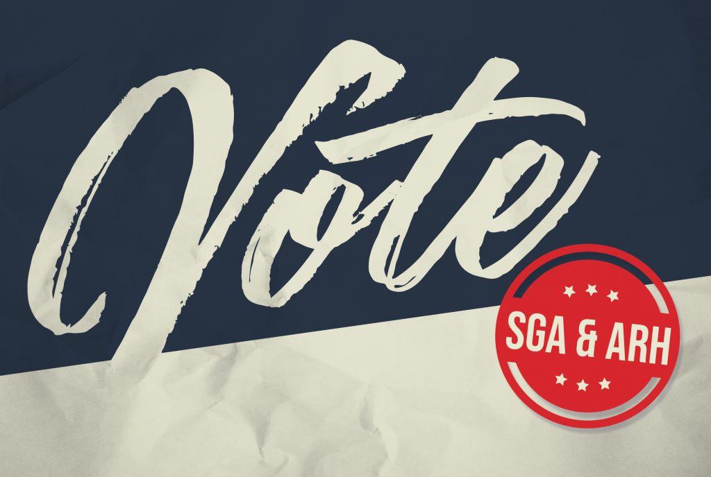 Vote SGA & ARH