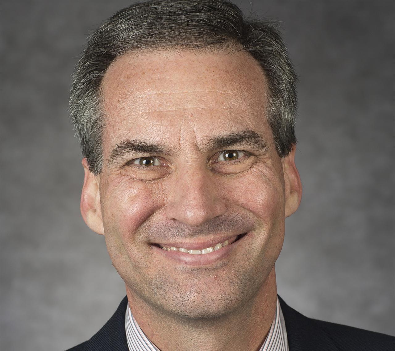 headshot of James Wolfinger