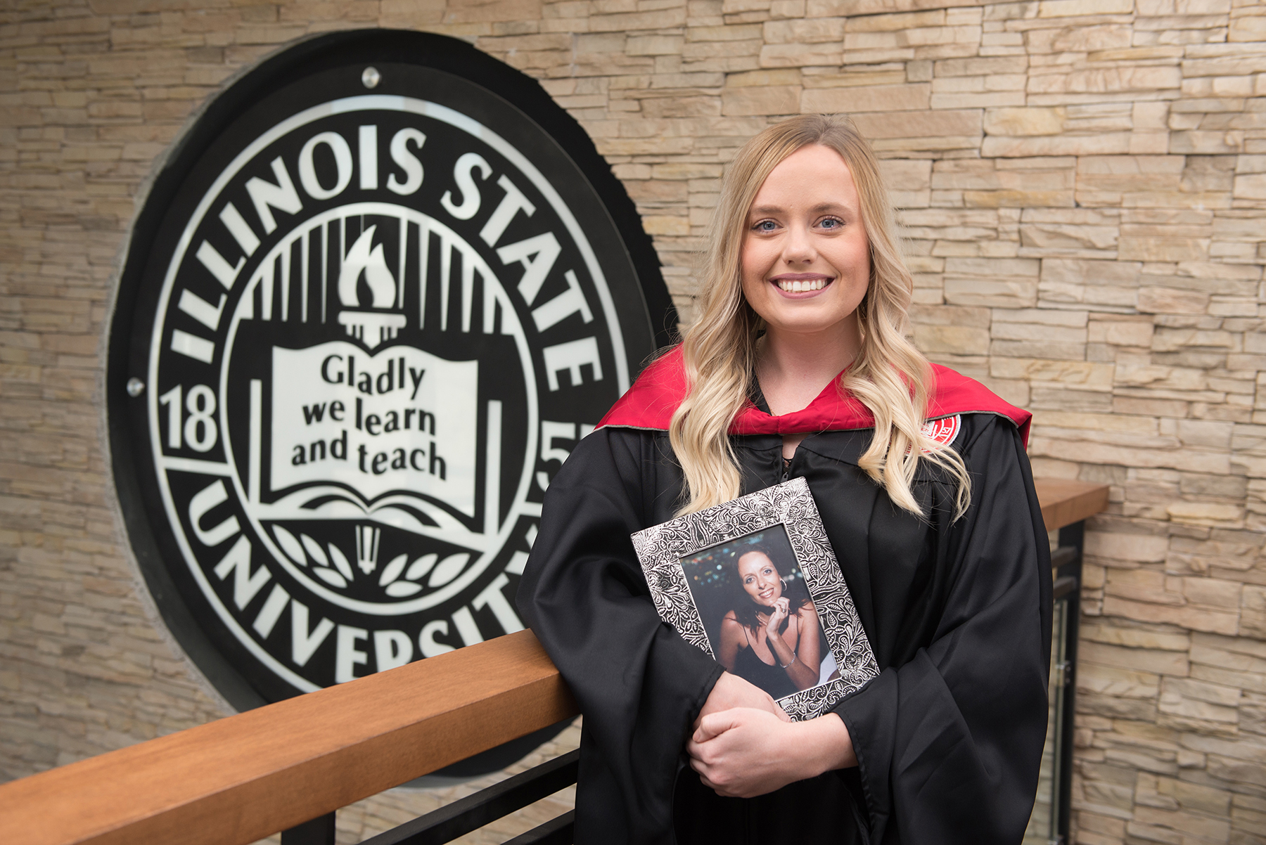 When Elizabeth Rice graduates with her master's in speech-language pathology May 10, she will be remembering her mother, Melissa Rice, who died in 2013.