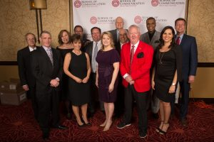 TV-10 alumni at the Hall of Fame Ceremony