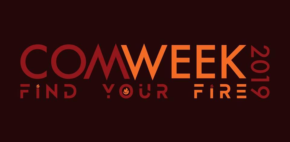 COM Week 2019 Promotional Banner