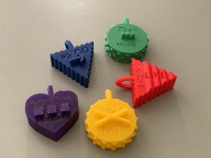 3D Printed Symbols