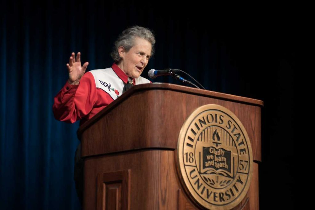 Temple Grandin at Illinois State University