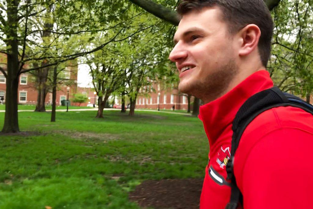 Illinois State transfer student JP Wills walks on Quad