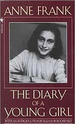 cover of the book The Diary of a Young Girl by Anne Frank