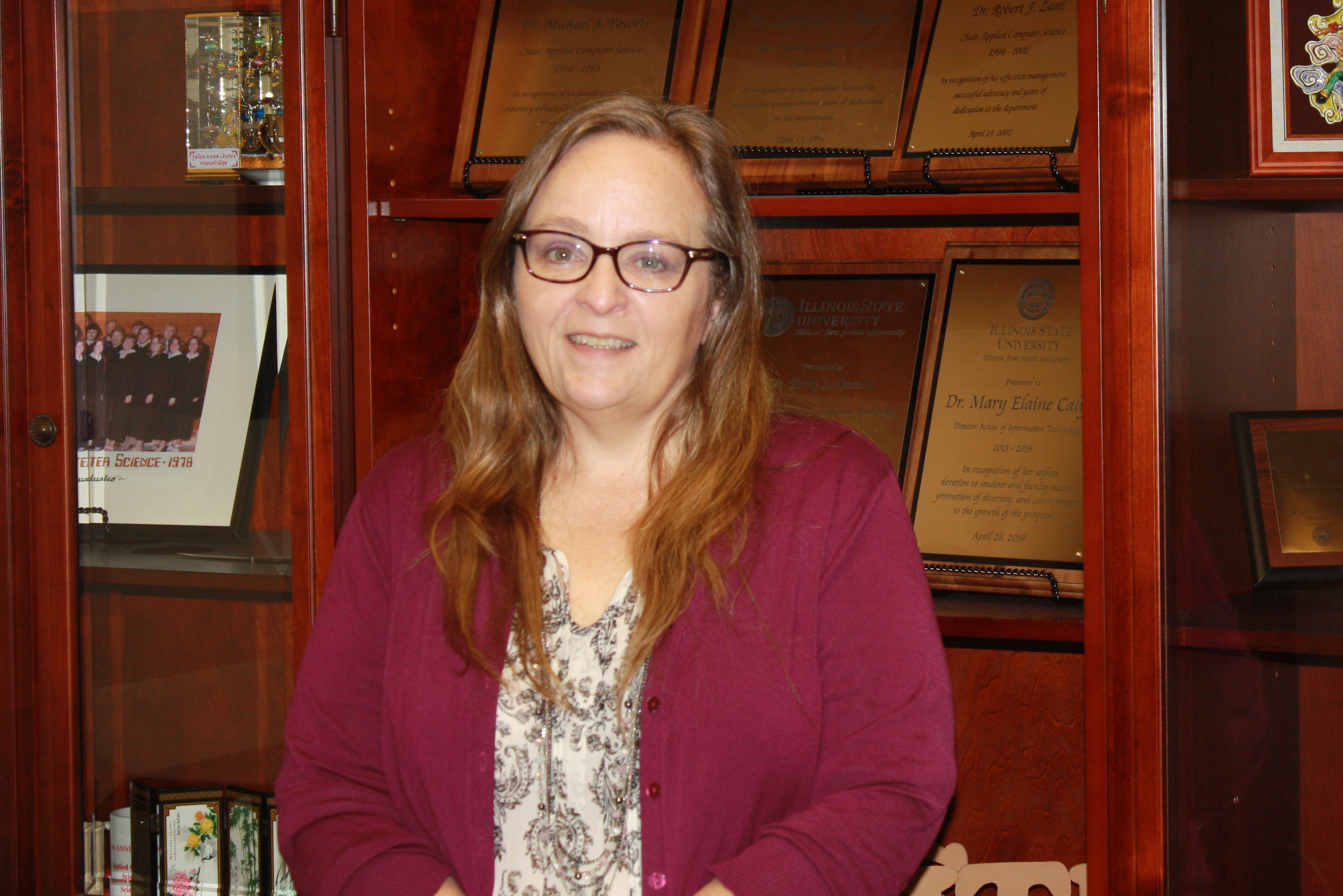 Traci Carte is the new director of the School of Information Technology.
