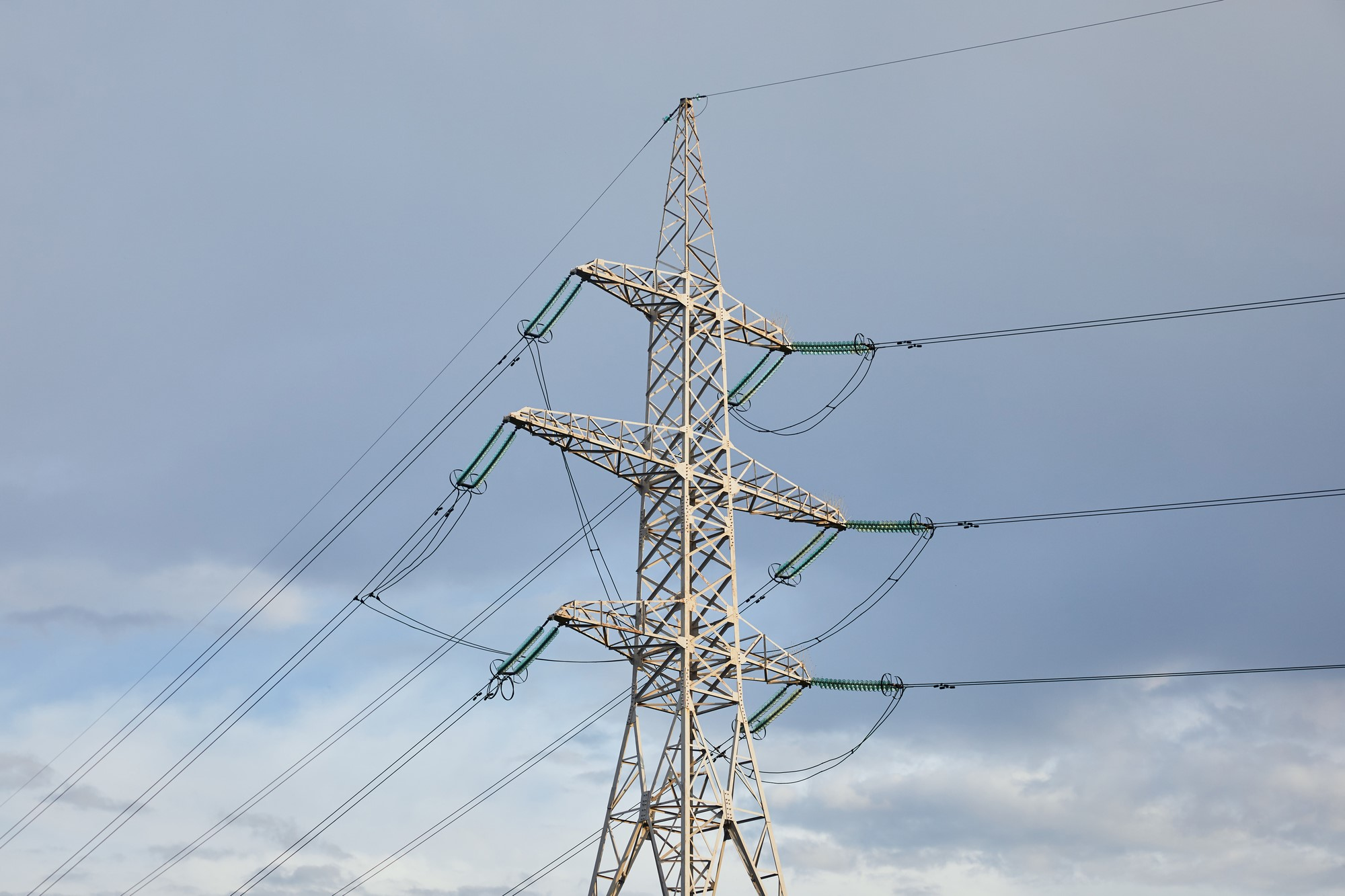 image of a power line