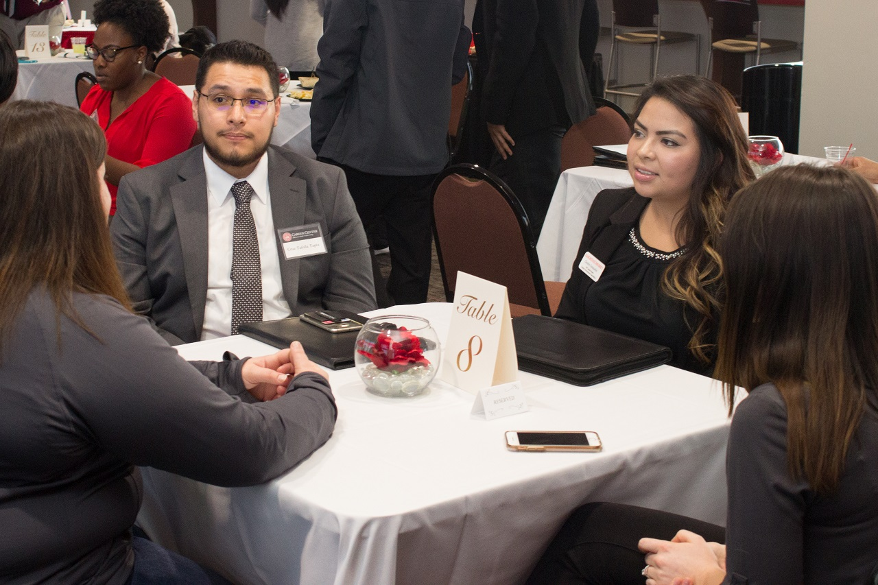 As part of Student Affairs Week, the Division of Student Affairs is excited to host its inaugural Involvement to Industry Conference for students and alumni to have meaningful face-to-face interactions.