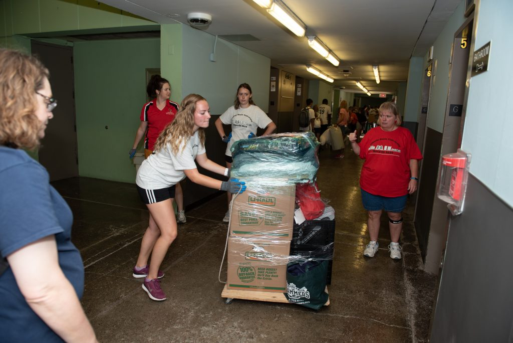 Redbirds move-in to Watterson Towers.