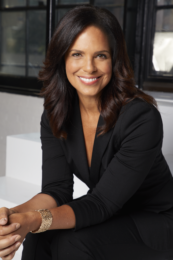 Soledad O'Brien sitting