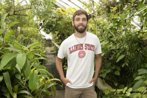 Eric Walsh is one of the SACNAS ISU members putting together a publication spotlighting student research.