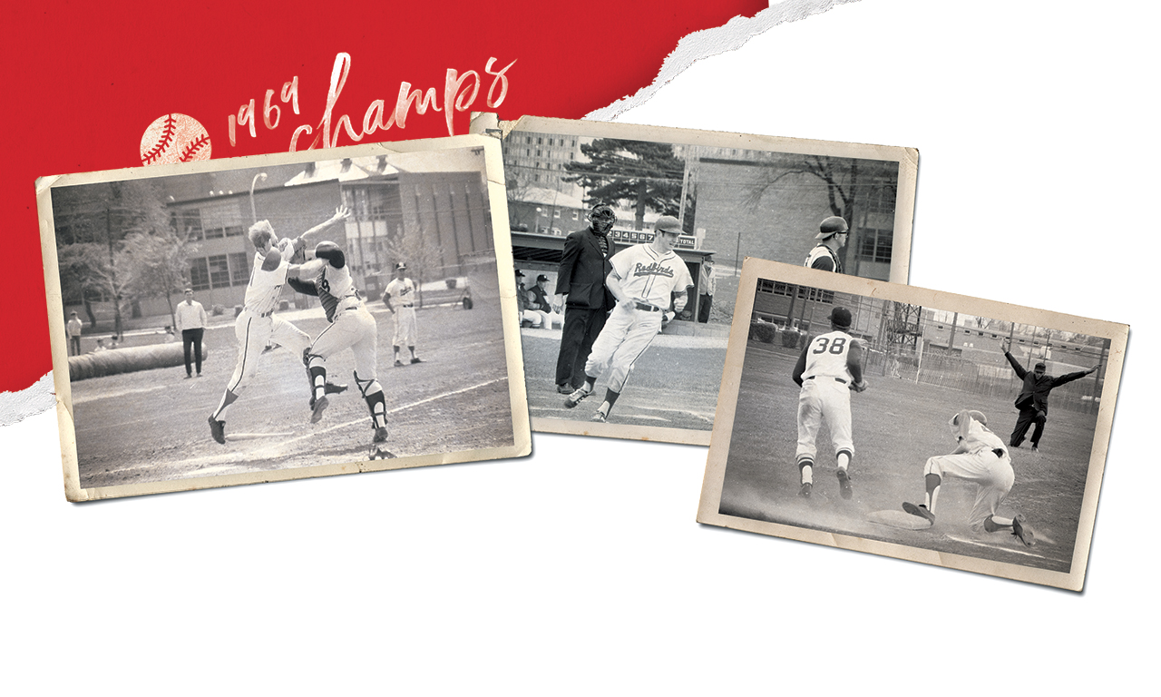 Photos capturing moments from the 1969 season. National champs
