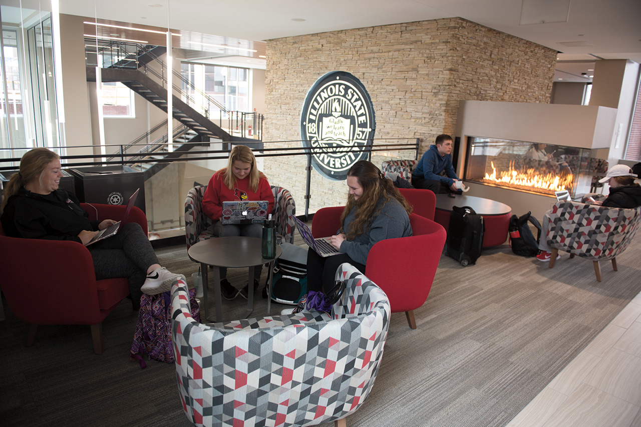 The Bone Student Center has new places for students to congregate.