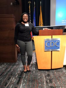 Ariel Williams at the Center for Disease Control and Prevention