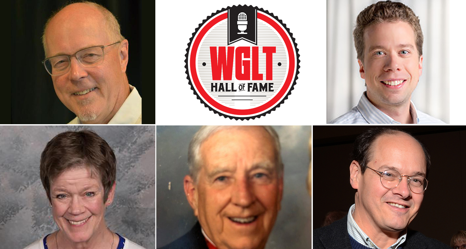 Five inductees into WGLT Hall of Fame