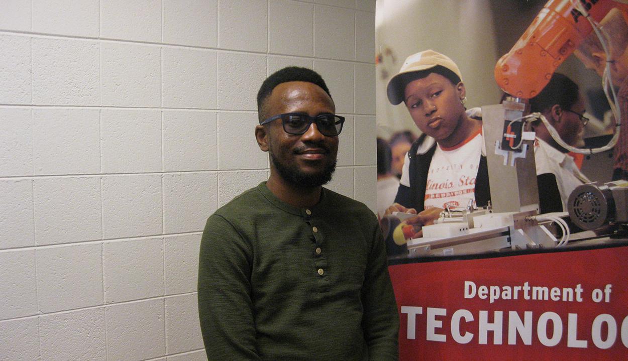 Joseph Aderoju, technology graduate student