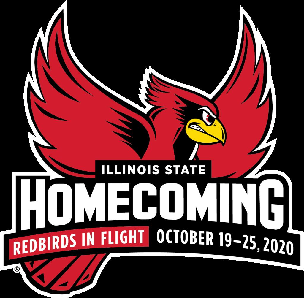 Logo for Homecoming 2019 Redbirds in Flight
